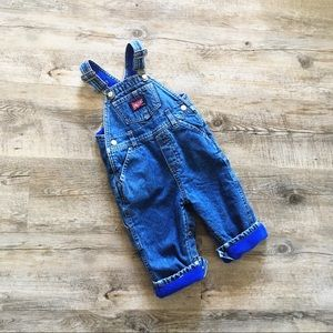 Old Navy Fleece-Lined Baby Overalls
